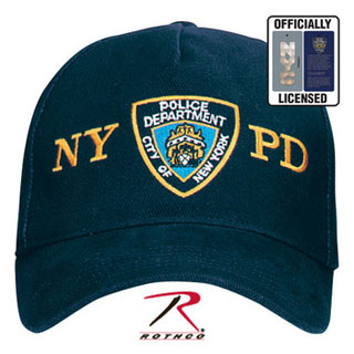 Officially Licensed NYPD Adjustable Cap With Emblem-