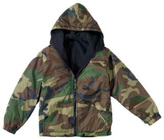Rothco Kids Reversible Camo Jacket With Hood-