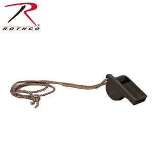 Rothco G.I. Style Police Whistle-