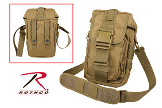 Flexipack Molle Tactical Shoulder Bag - Coyote