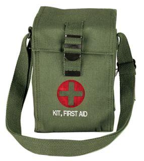 Rothco Pouch - Platoon Leader 1st Aid / OD-Rothco