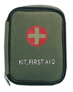 8325 Military Zipper First Aid Kit