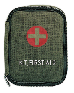 8325_Rothco Military Zipper First Aid Kit Pouch-Rothco