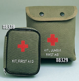 8328 Military Zipper First Aid Kit