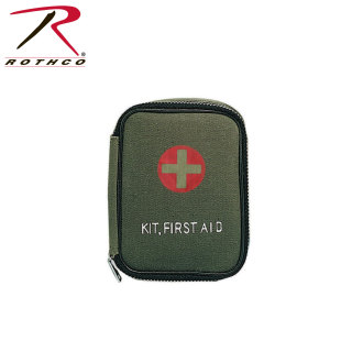 Rothco Military Zipper First Aid Kit-