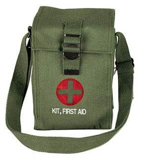 8331 O.D. Platoon Leader's First Aid Kit