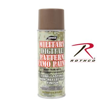 8343_Rothco Camouflage Spray Paint-