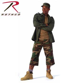 8362 8361 Rothco 6-Pocket B.D.U. Capri Pants - Woodland Camo