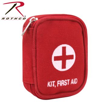 Rothco Military Zipper First Aid Kit Pouch-Rothco