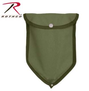 Rothco Canvas Tri-fold Shovel Cover-Rothco