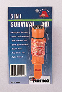Rothco Deluxe 5-in-1 Survivor Tool-