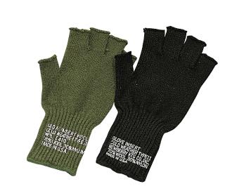 Rothco Fingerless Wool Gloves-Rothco