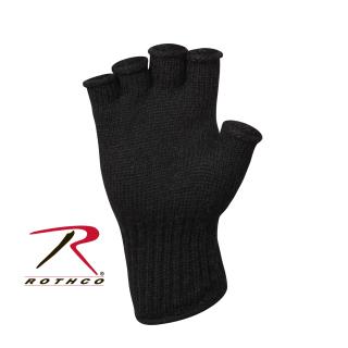 Rothco Fingerless Wool Gloves-14290-Rothco