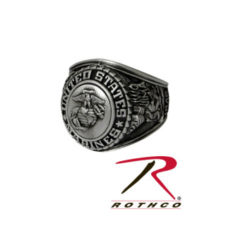 Deluxe Silver Insignia Ring-Rothco