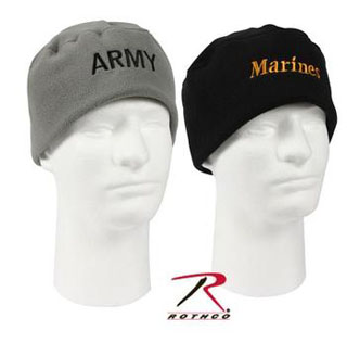 Rothco Military Embroidered Polar Fleece Watch Caps-