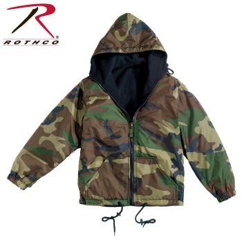 8463_Rothco Reversible Lined Jacket With Hood-
