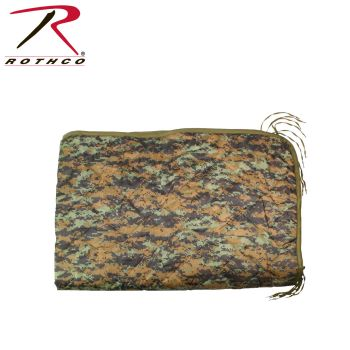 Rothco G.I. Type Camo Poncho Liner-