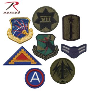Rothco G.I. Military Assorted Military Patches-