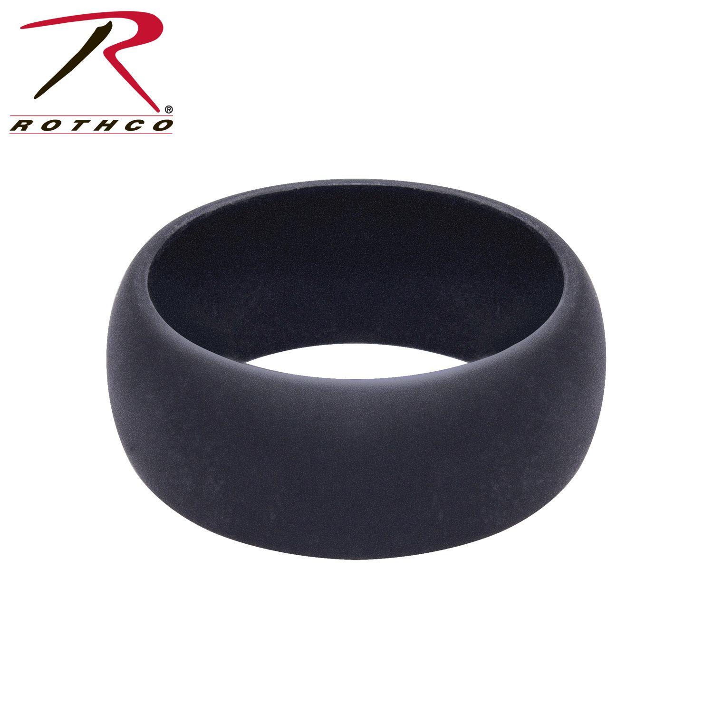 848_Rothco Black Silicone Ring-