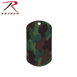Rothco Camo Dog Tags-