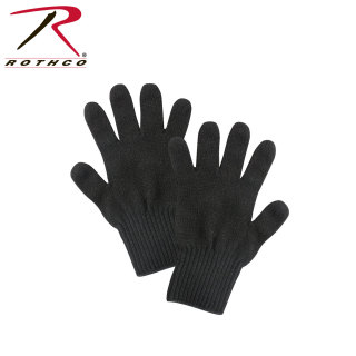 8518_Rothco Wool Glove Liners - Unstamped-