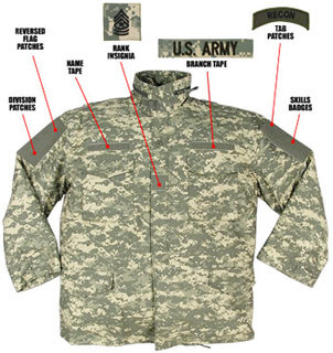 Rothco Digital Camo M-65 Field Jacket-