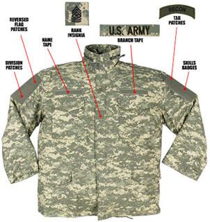 8542 Rothco M-65 Field Jacket w/Liner - ACU Digital Camo
