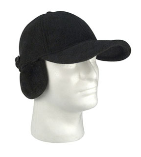 Rothco Fleece Low Profile Cap w/ Earflaps-Rothco