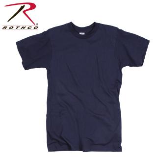 GI Irregular 100% Cotton Navy Blue T-shirt-Rothco