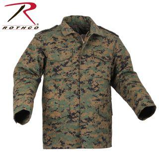 4cb4e957038aa Buy Rothco Camo M-65 Field Jacket - Rothco Online at Best price - TX
