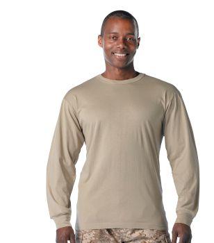 Rothco Long Sleeve Solid T-Shirt-