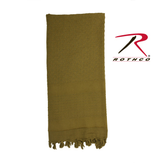 Rothco Solid Color Shemagh Tactical Desert Scarf-