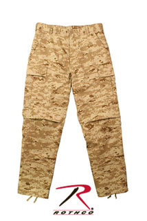 Rothco Digital Camo Tactical BDU Pants-Rothco