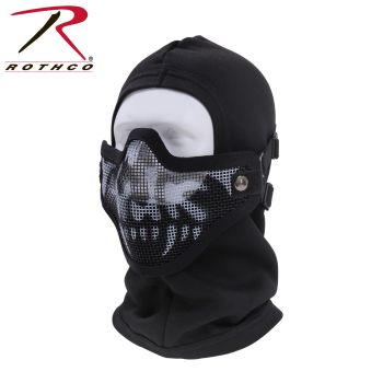 Bravo Tac Gear Strike Steel Half Face Mask-Rothco