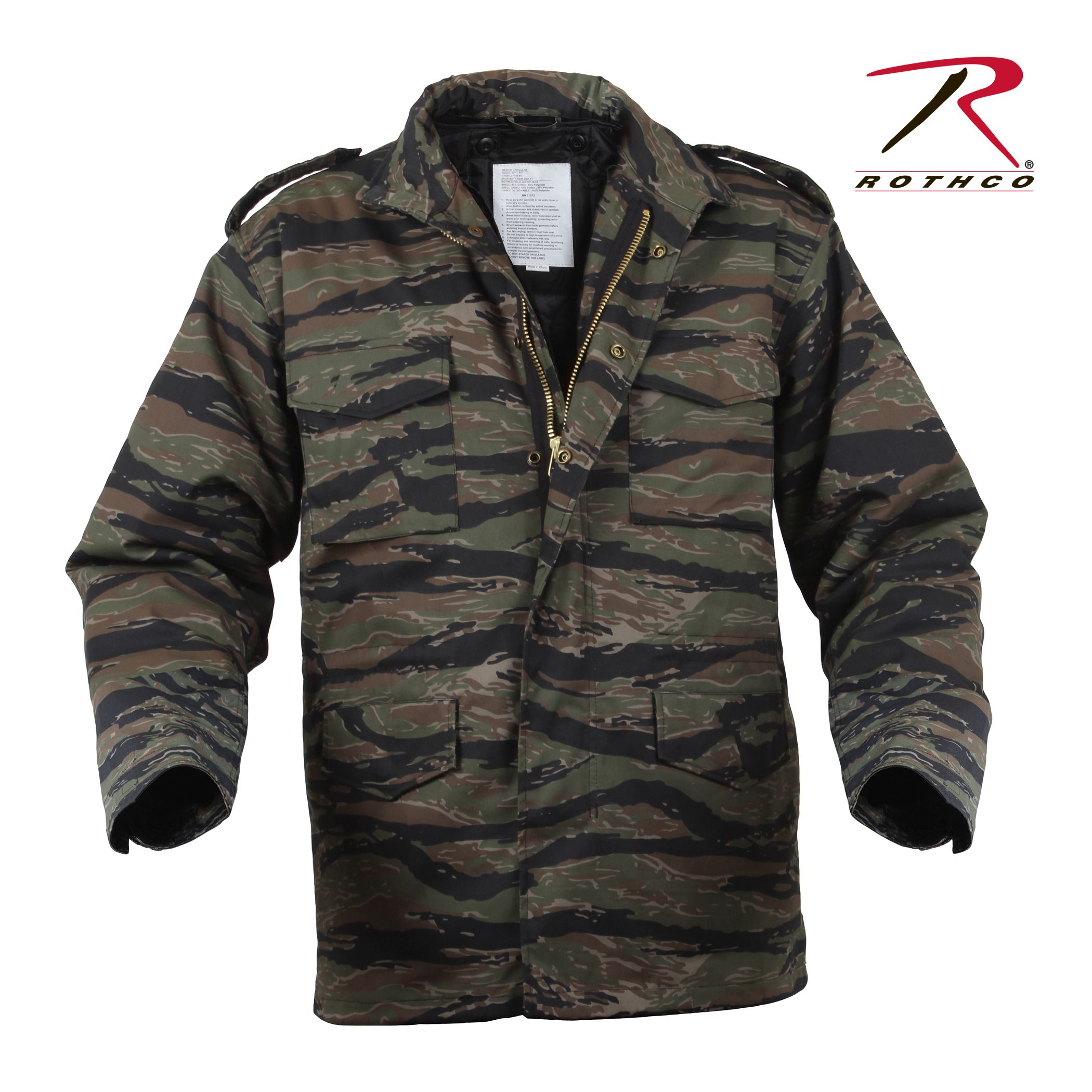 f75c90e73472d Buy Rothco Camo M-65 Field Jacket - Rothco Online at Best price - NJ