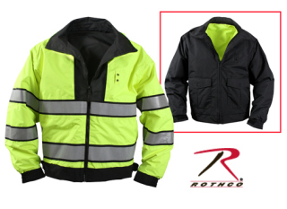Rothco Reversible Hi-visibility Uniform Jacket-
