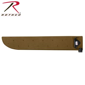 Rothco G.I. Type Plastic Machete Sheath-Rothco