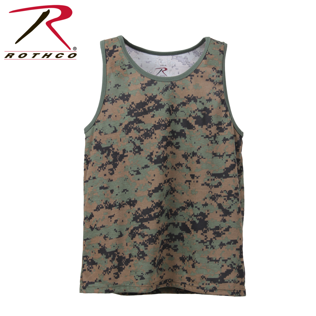 343323c0e9 Buy Rothco Camo Tank Top - Rothco Online at Best price - PA