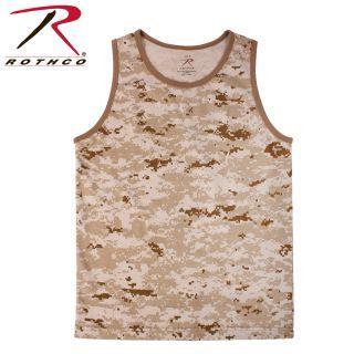 Rothco Camo Tank Top-Rothco