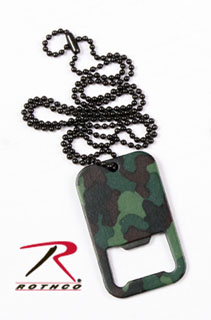8794_Rothco Dog Tag Bottle Opener With Chain-