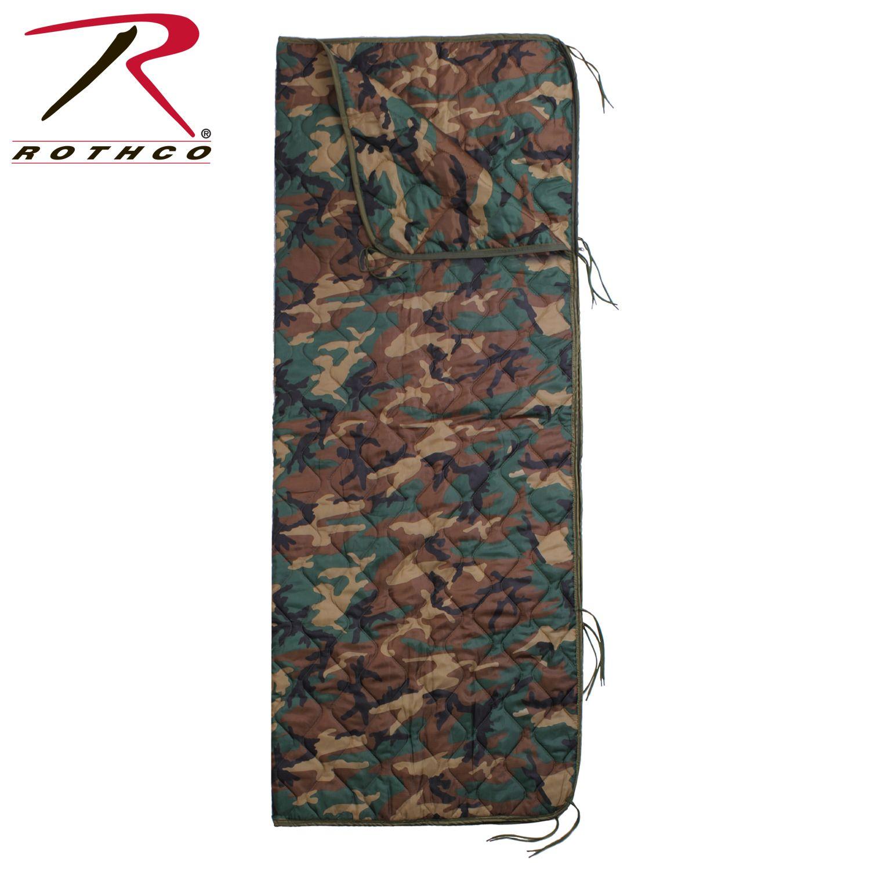 Rothco GI Type Rip-Stop Poncho Liner With Zipper-Rothco