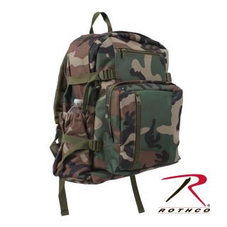 Rothco Woodland Camo Backpack-
