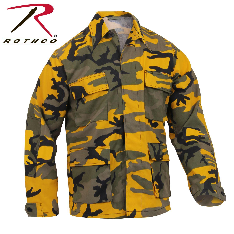 8870_Rothco Color Camo BDU Shirt-