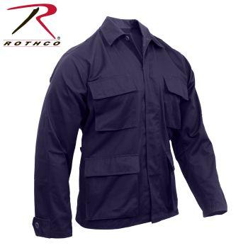 8887 8885 Rothco Navy Blue B.D.U. Shirt
