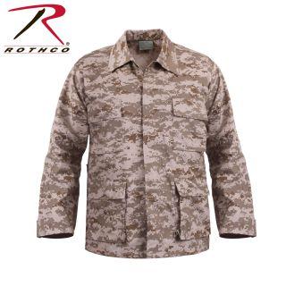 Rothco Digital Camo BDU Shirts-