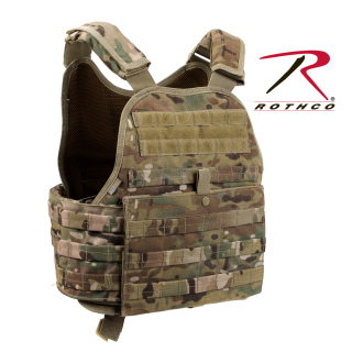 Rothco MultiCam MOLLE Plate Carrier Vest-