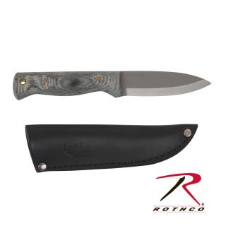 Bushslore Micarta Handle Knife w/ Sheath