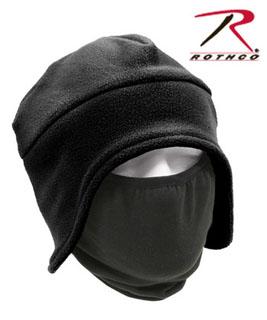 8943_Rothco Convertible Fleece Cap With Poly Facemask-