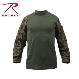 90007_Rothco Military NYCO FR Fire Retardant Combat Shirt-