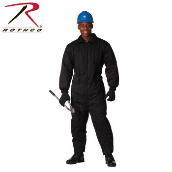 9018 Black Insulated Coverall
